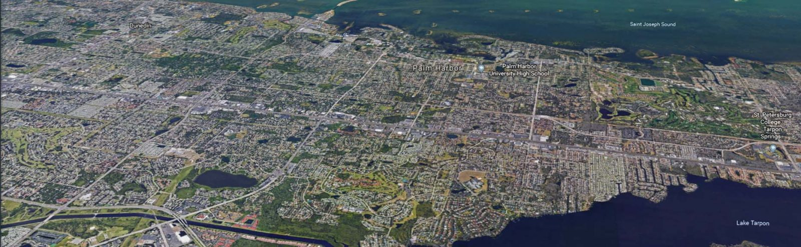 Palm Harbor Aerial View